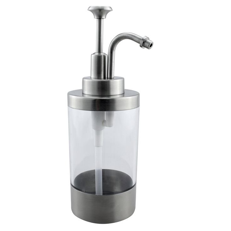 Stainless Steel Liquid Lotion and Soap Dispenser Pump Bottle Bathroom Kitchen Countertop Refillable Accessory Home Decor Gadget #Affiliate
