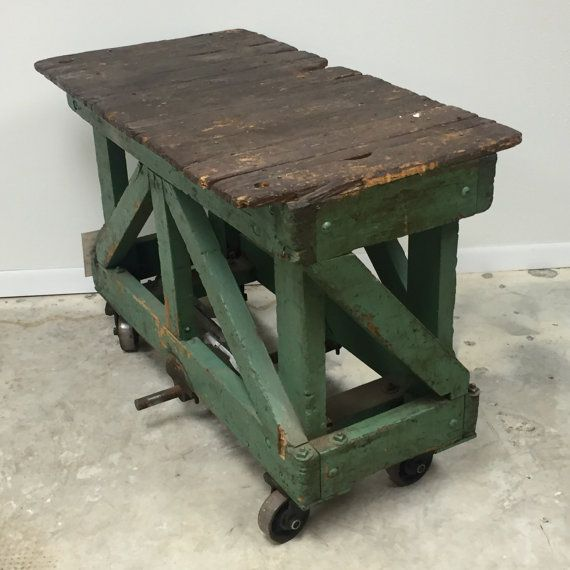 Vintage Kitchen Island Industrial Moving Rolling Cart: 1000+ Ideas About Industrial Tv Stand On Pinterest
