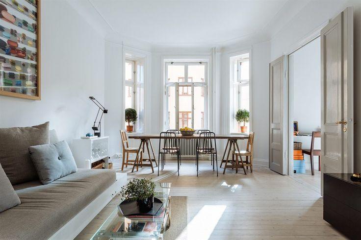 niklas wendell, scandinavian apartment