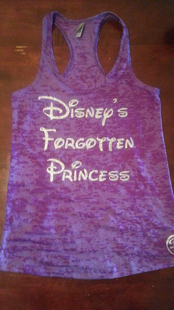 Hey, I found this really awesome Etsy listing at https://www.etsy.com/listing/189889513/disneys-forgotten-princesswomens-workout