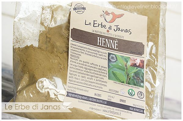 Le Erbe di Janas - Henné Rosso Caldo