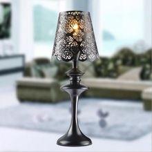 Iron Art Tafellamp Moderne Europese Kant Hoogwaardige Eyeshield Bureaulamp Voor Thuis Slaapkamer Woonkamer Decoratie Bedlampje(China (Mainland))