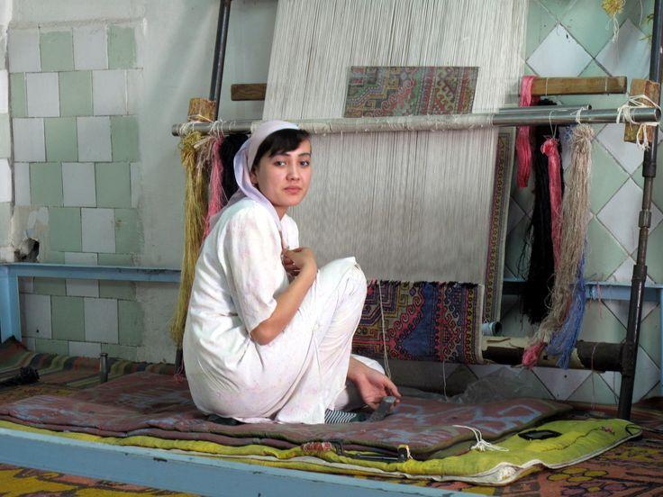 Fábrica de seda.