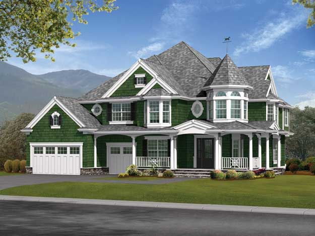 this 4 bedroom victorian home has over 4000 square feet house plan 551242 victorian house plansvictorian housesmodern - Modern Victorian House Design