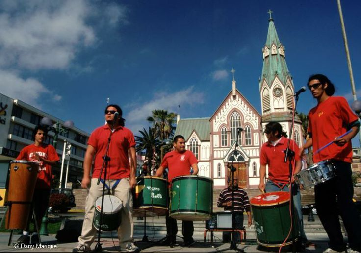 Chilean Music Band. © Dany Marique