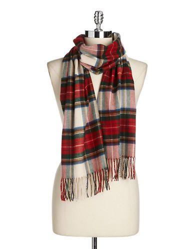 perfect tartan plaid scarf