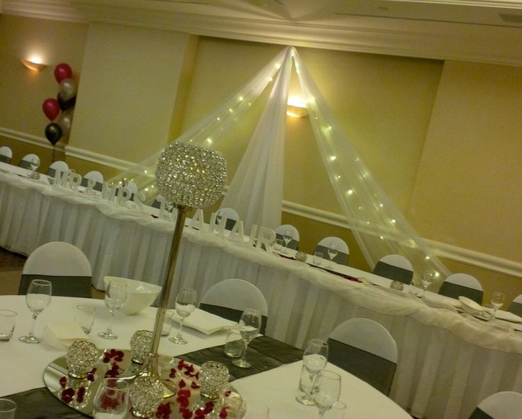 #butterflybackdrop #crystalball #crystal #weddingreception