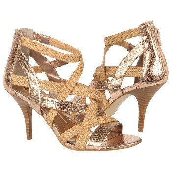 Carlos by carlos santana womens nouvelle shoes (rose gold multi) carlosshoes.com £88.99