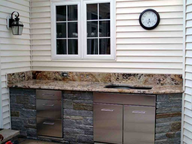 Stainless Outdoor Kitchen Cabinets73 best Outdoor Cabinets images on Pinterest   Outdoor kitchen  . Outdoor Kitchen Cabinets And More. Home Design Ideas