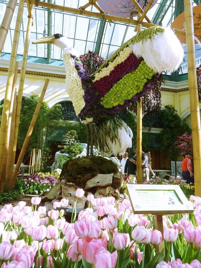 米国ラスベガスのホテル「ベラージオ」にて。Hotel Bellagio in Las Vegas, USA.