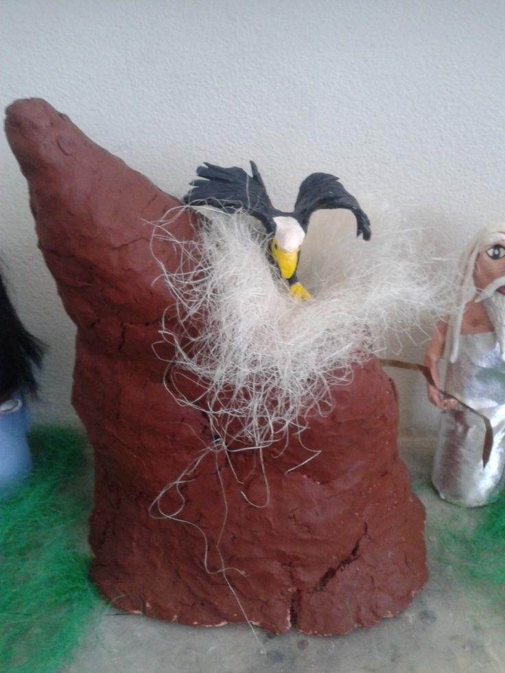 Όλυμπος και αετός
