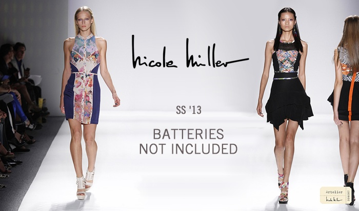 #NicoleMiller #NewYork #BatteriesNotIncluded #Spring #Summer #WomenCollection #Fashion #SS13 #GbModa