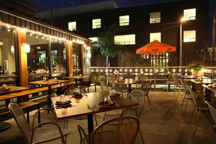 San Francisco restaurants and bars with outdoor patios