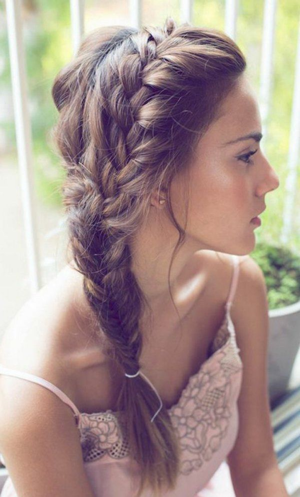 braiding styles with hair 8 best easy medium length wedding hairstyles images on 9280