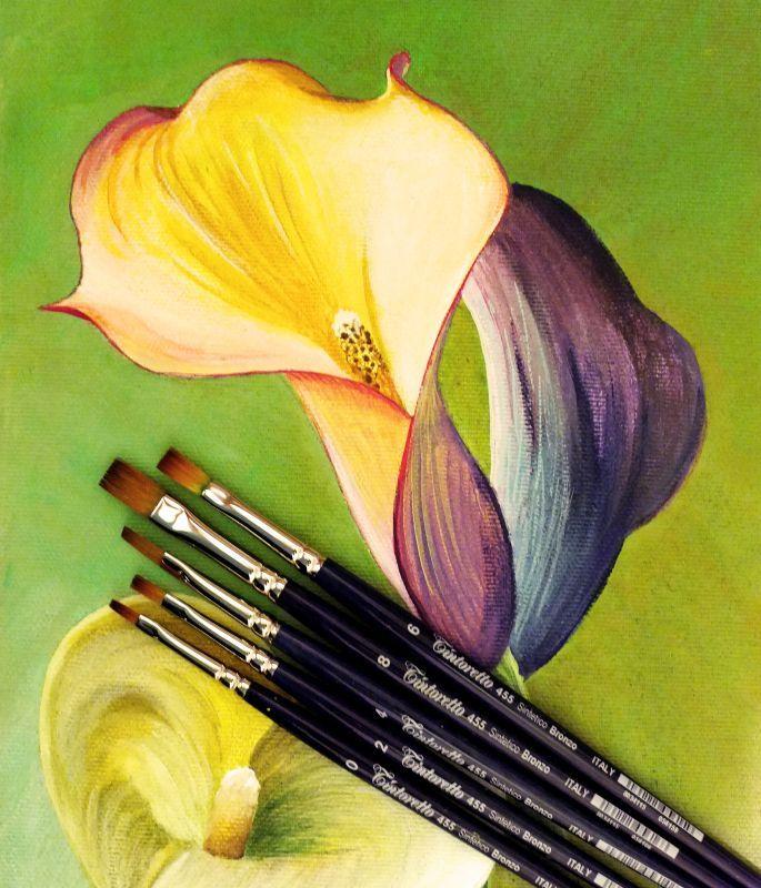 Lectia 09 - Pensule Pentru Pictura In Acrilice