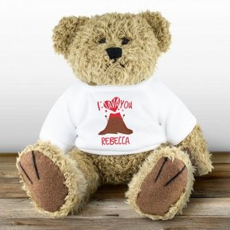 I Lava You Personalised Teddy Bear