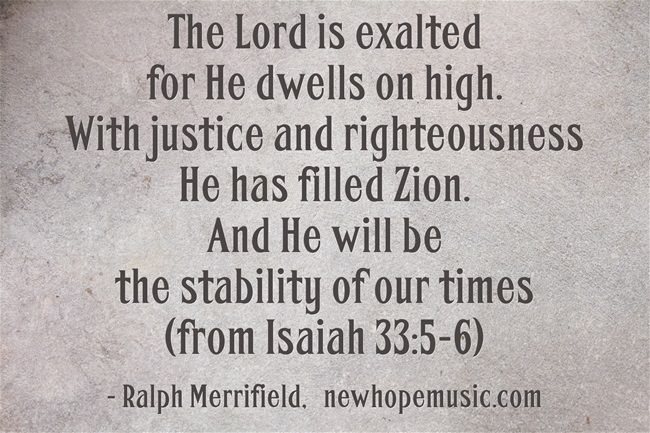 Encouraging Christian quotes and song lyrics from Ralph Merrifield and New Hope Music. Scripture based, uplifting, devotional, Bible passages... Come visit newhopemusic.com, reverbnation.com/newhopemusic and www.facebook.com/...