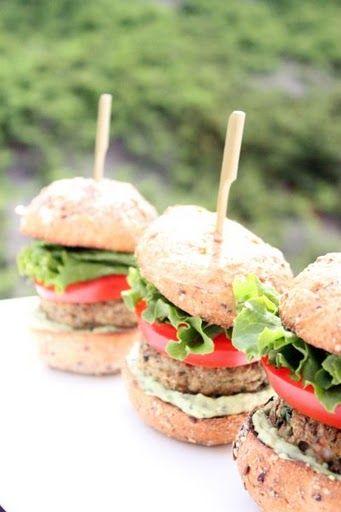 Shrimp Burgers with Avocado Aioli