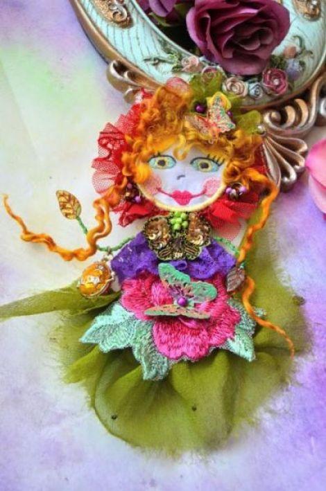 Brosa Romantic Bohemian Doll