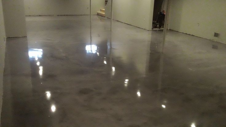 Unfinished Basement Wall Industrial Ideas | This was a great basement for our Marble Glaze epoxy product. They …