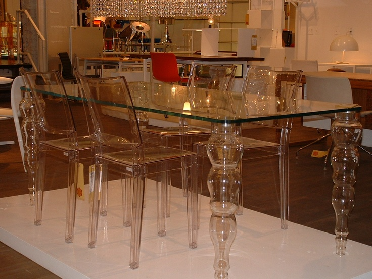transparent dining scheme at ABC Home