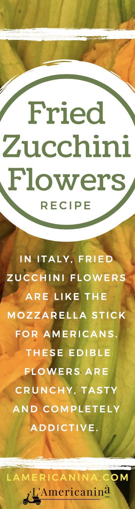 Recipe, Healthy, Vegetables, Zucchini Flowers, Fritti, Fried, side dish, Italian food.