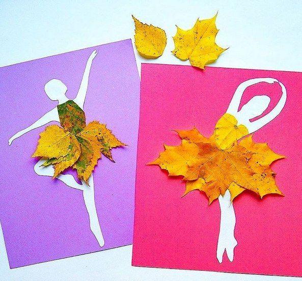 Открытки из кленовых листьев своими руками, любви открытки самая