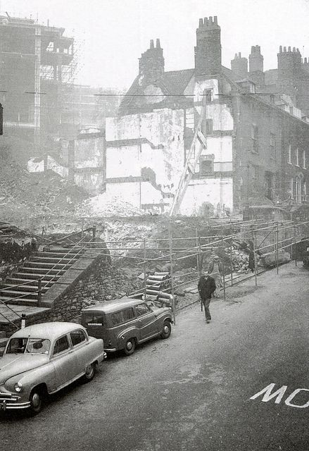 Bristol after the blitz - St Michael's Hill | by brizzle born and bred