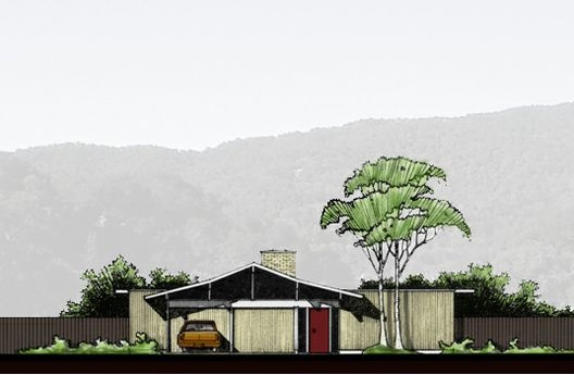 12 best images about eichler house plans on pinterest for Eichler designs