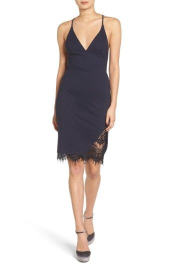 ASTR the Label Lace Body-Con Dress at Nordstrom