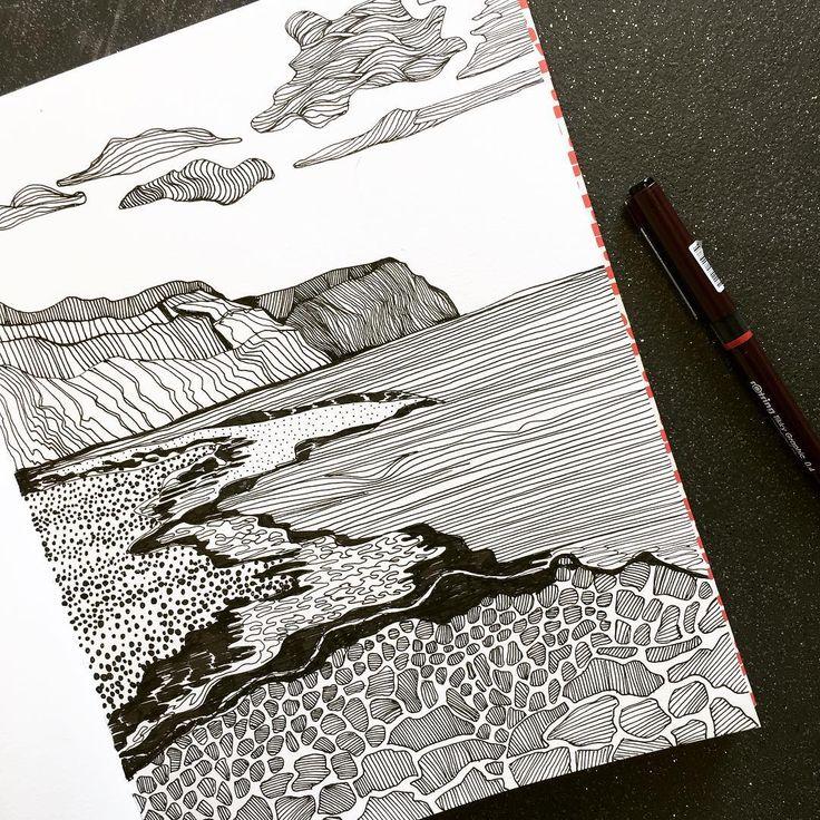 Drawing in my sketchbook #art #artist #sketchbook #drawing #hastings