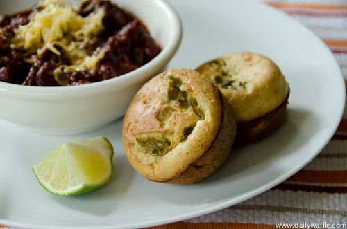 Hatch Chile Popovers