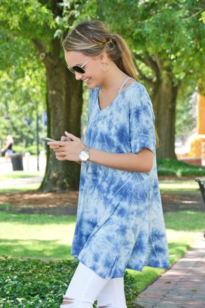 Wave Rush Tunic :: NEW ARRIVALS :: The Blue Door Boutique