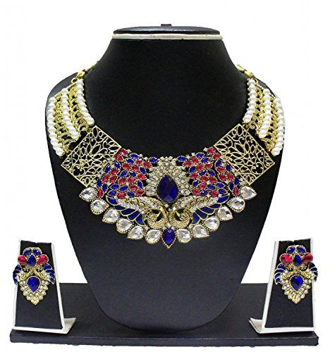 Red & Blue Stone Indian Bollywood Gold Plated Wedding Wea... https://www.amazon.com/dp/B01MTA03FL/ref=cm_sw_r_pi_dp_x_iHDHybGZB6457
