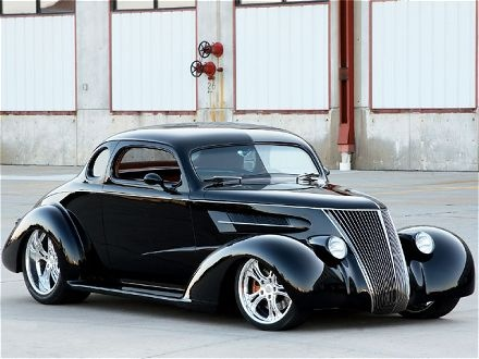 Super Cool. 38 Chevy coupe