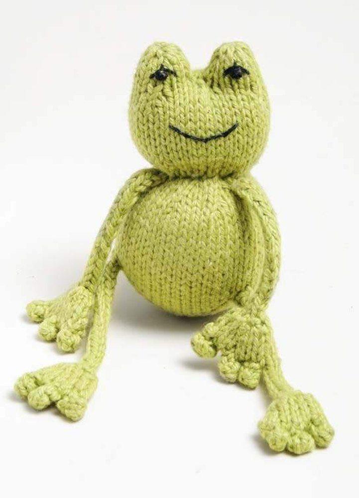 Free Frog Knitting Pattern : Best 20+ Yarn Needle ideas on Pinterest Crocheted baby sandals, Baby flip f...
