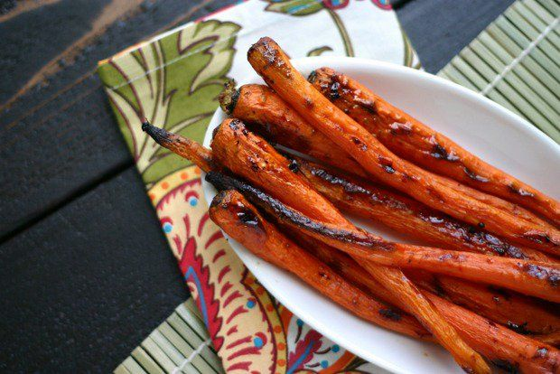 Weight Watchers Maple Glazed Carrots with Cardamom