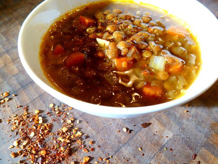 A Simple Bowl of Soup - Arabic Lentil Soup (Vegan)