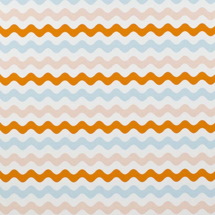 Warwick Fabrics : MERIMBULA, Colour MELON