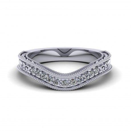 engagement rings ladies wedding bands 13ct princess cut wedding band ...