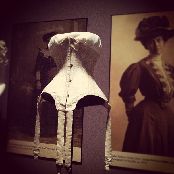 corset from the Underneath It All exhibit