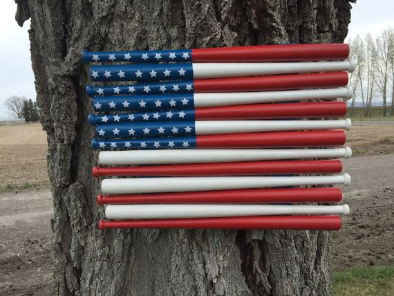 Hey, I found this really awesome Etsy listing at https://www.etsy.com/listing/231871822/baseball-bat-flag