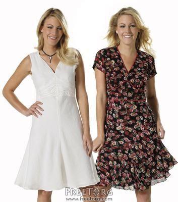 Женские летние платья и костюмы