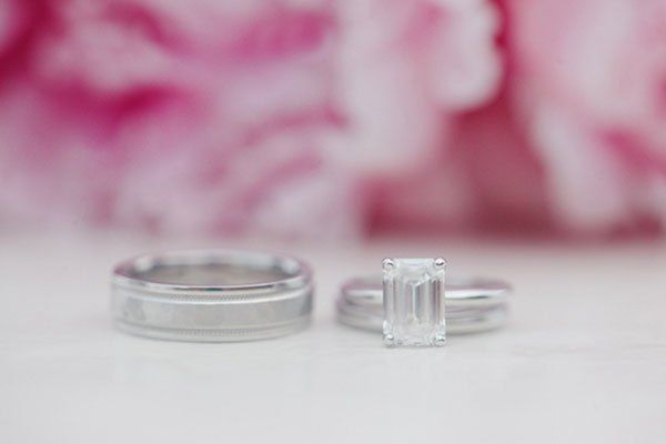 Channel your inner starlet with this emerald-cut pairing.Photo Credit: Marta Locklear Photography