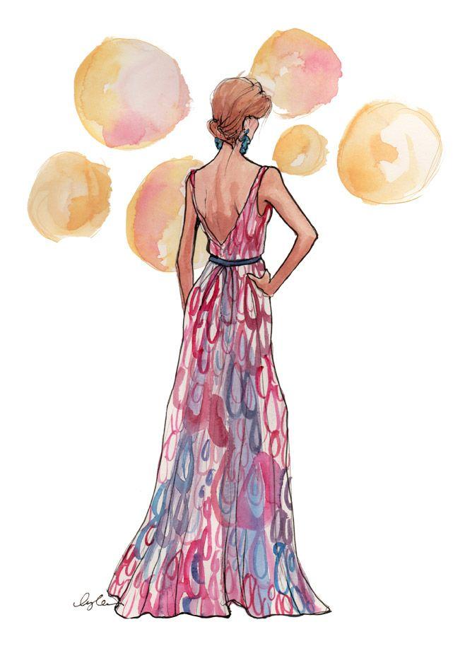 love the empire waist.: Insl Haynes, Fashion Drawing, Fashion Sketches, Inslee Haynes, Fashion Illustration, Design Illustration, Art Charts, Art Insl, Chic Illustration
