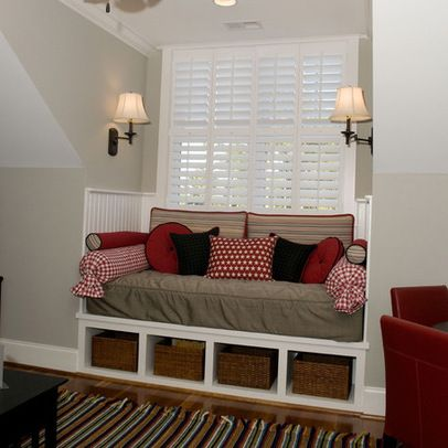 10 best images about dormer window treatments on pinterest for Dormer bedroom designs