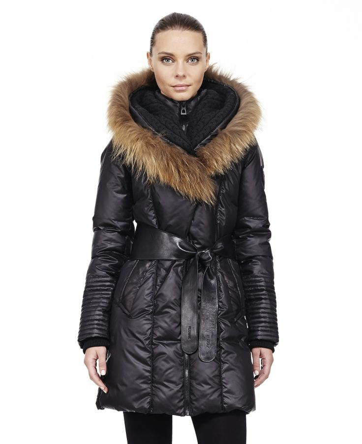 RUDSAK Parkas (BLACK, PONGEE WOVEN - LEATHER) | Sophie-2013.. Latest purchase! :)