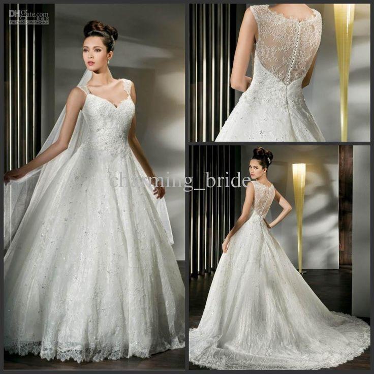 124 best Wedding Dresses images on Pinterest