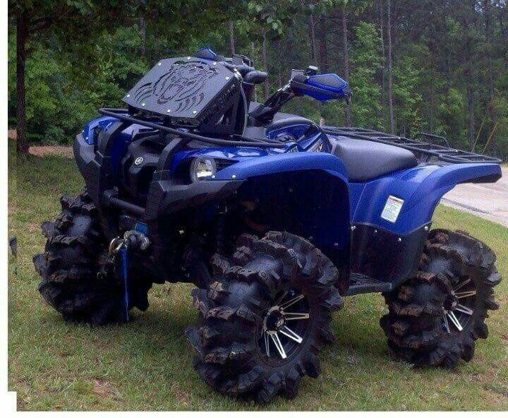 Eedbebb Bb Ae D B on Yamaha Grizzly 660 Lifted
