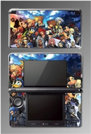 Kingdom Hearts Sora Goofy Mickey Mouse Minnie Donald Duck Game Vinyl Decal Cover Skin Protector Kit #3 for Nintendo 3DS $9.98 Your #1 Source for Video Games, Consoles & Accessories! Multicitygames.com love
